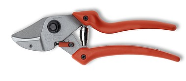 LÖWE 7.107 - Anvil ergonomic pruner with curved blade and short cutting head